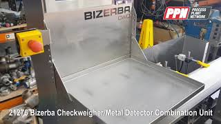 Bizerba Checkweigher/Metal Detector Combination Unit CWE [21276]