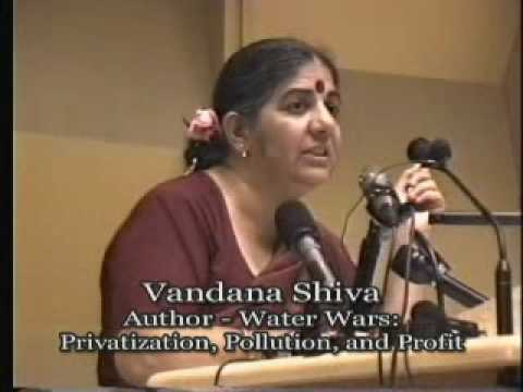 TalkingStickTV - Vandana Shiva - The Impact of Globalization on Food and Water