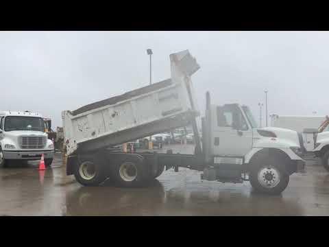 2009 International SF625 WorkStar 7400 T/A Dump Truck