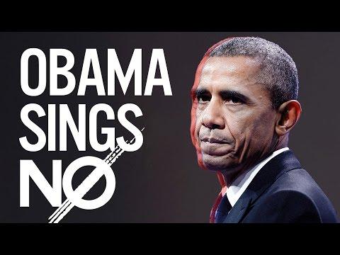 Barack Obama Singing No by Meghan Trainor