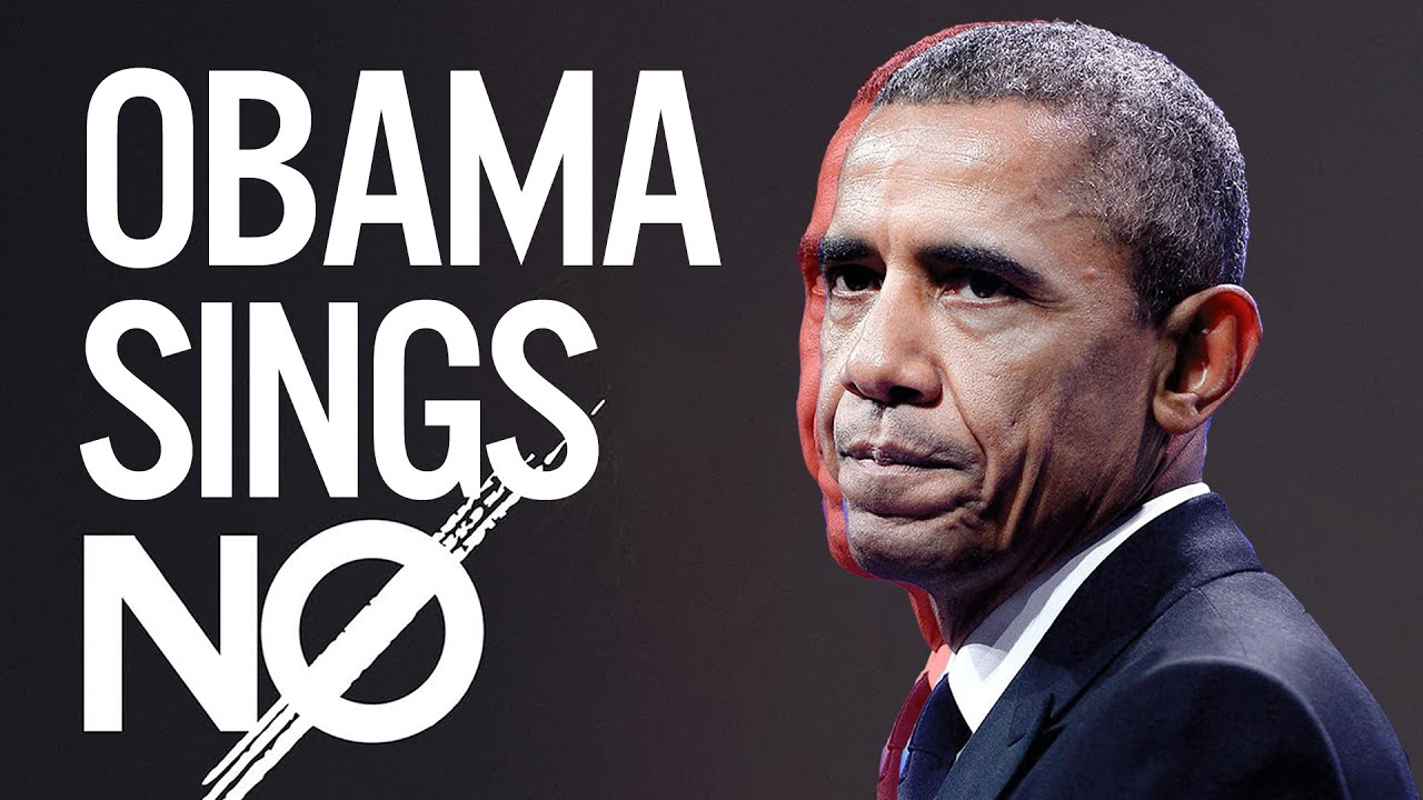 barack obama singing no by meghan trainor youtube
