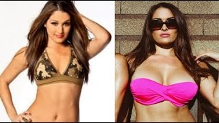 WWE Divas with Implants - Before and After (Video)