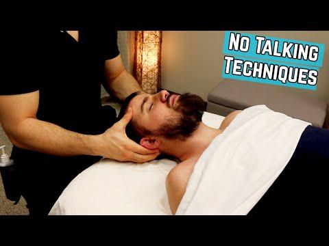 Head and Neck Massage Techniques NO TALKING