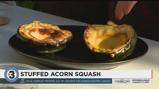 Chef Moltebano makes Stuffed Acorn Squash