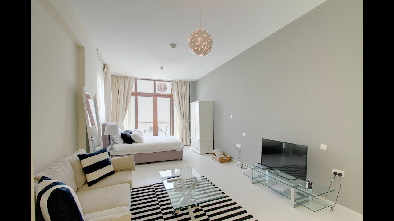 Furnish Studio Apartment fully furnished studio apartment in palm views east, dubai - youtube