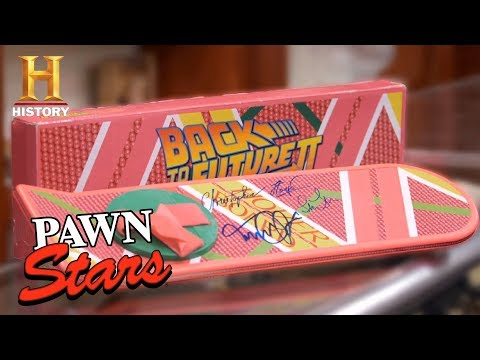 "Pawn Stars: ""Back to the Future Part II"" Signed Hoverboard (Season 14) 