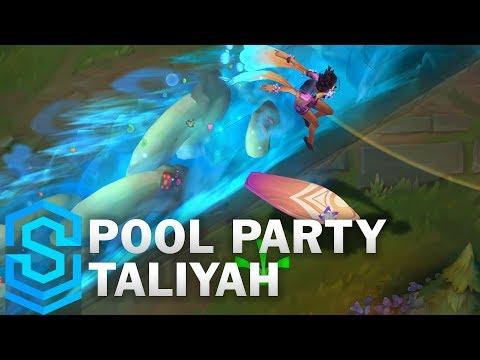 Pool Party Taliyah Skin Spotlight - Pre-Release - League of Legends