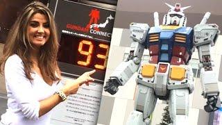 TGS : Découvrez le Gundam géant à Odaiba avec Carole (Tokyo)