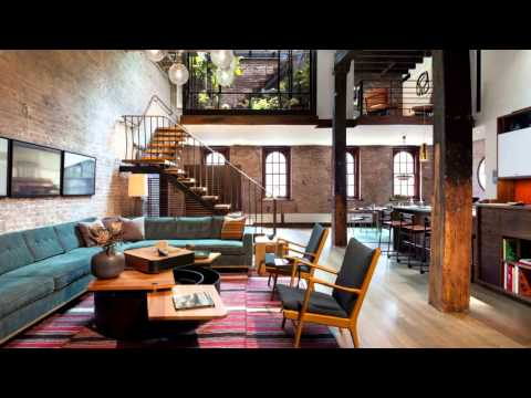 Urban Loft Design Ideas #2 - Interior Design, IDI HD