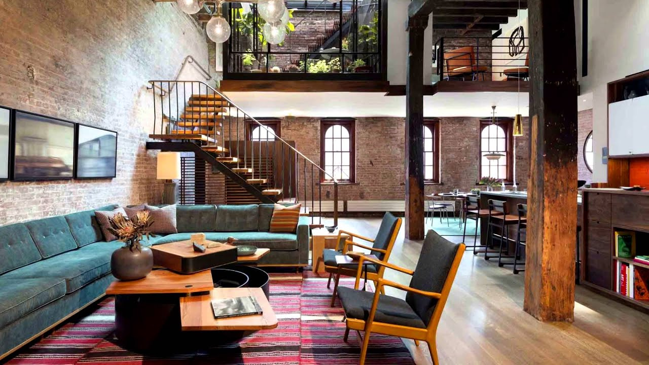 Urban Loft Design Ideas #2 - Interior Design, IDI HD - YouTube