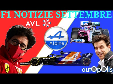 F1 NOTIZIE! FERRARI & BINOTTO.., addio RENAULT ciao ALPINE!, RINNOVO WOLFF, COPYGATE, ecc SETTEMBRE