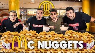 100 MCNUGGETS in 10 MINUTI CHALLENGE! w/ FIUS GAMER, TATINO23 ed ENRY LAZZA!