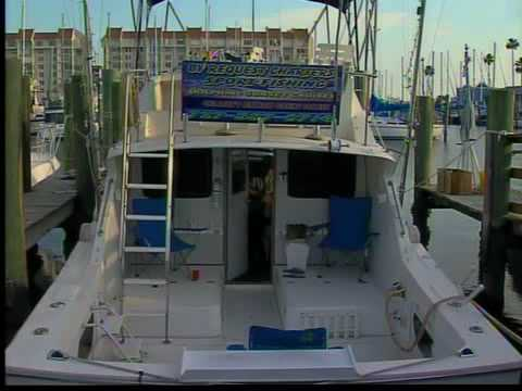 Charter boat business hurt by oil spill