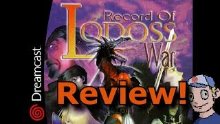 Record of the Lodoss War for Dreamcast Review!