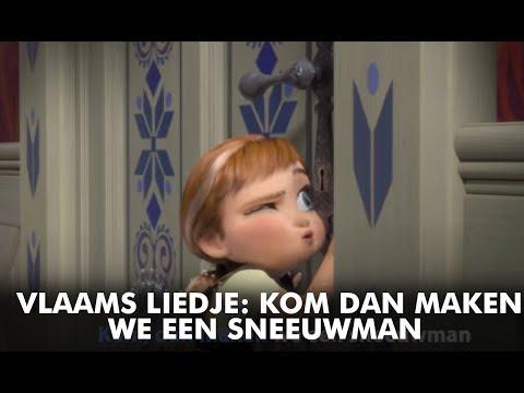 Frozen | Vlaams Liedje: Kom Dan Maken We Een Sneeuwman | Disney BE