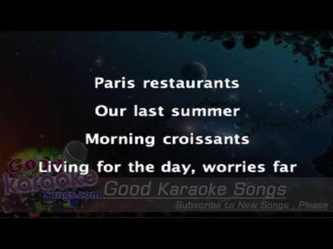 Our Last Summer -  Abba ( Karaoke Lyrics )