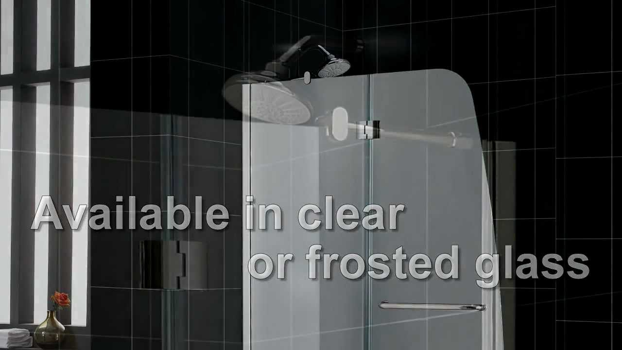 DREAMLINE AQUA SHOWER DOOR AND AQUA TUB DOOR - YouTube