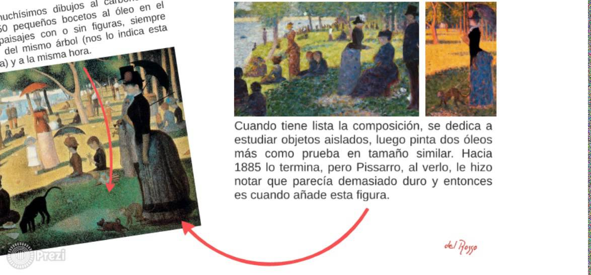 Georges Seurat, Tarde De Domingo En La Isla De La Grande