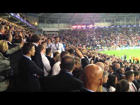 UEFA Super Cup 2014, Cardiff - Real Madrid V Sevilla Trophy Collection