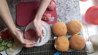 Гамбургер.Фаст фуд.