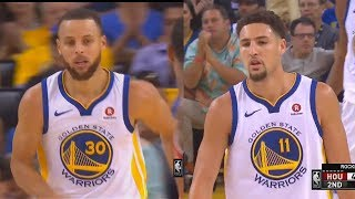 Stephen Curry Forces Game 7 vs Rockets With Klay Thompson! Warriors vs Rockets Game 6