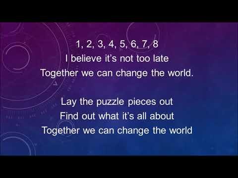 together we can change the world lyrics pdf