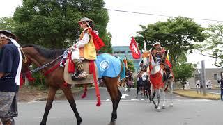 20180729  標葉郷騎馬(凱旋)行列 浪江 (相馬野馬追)