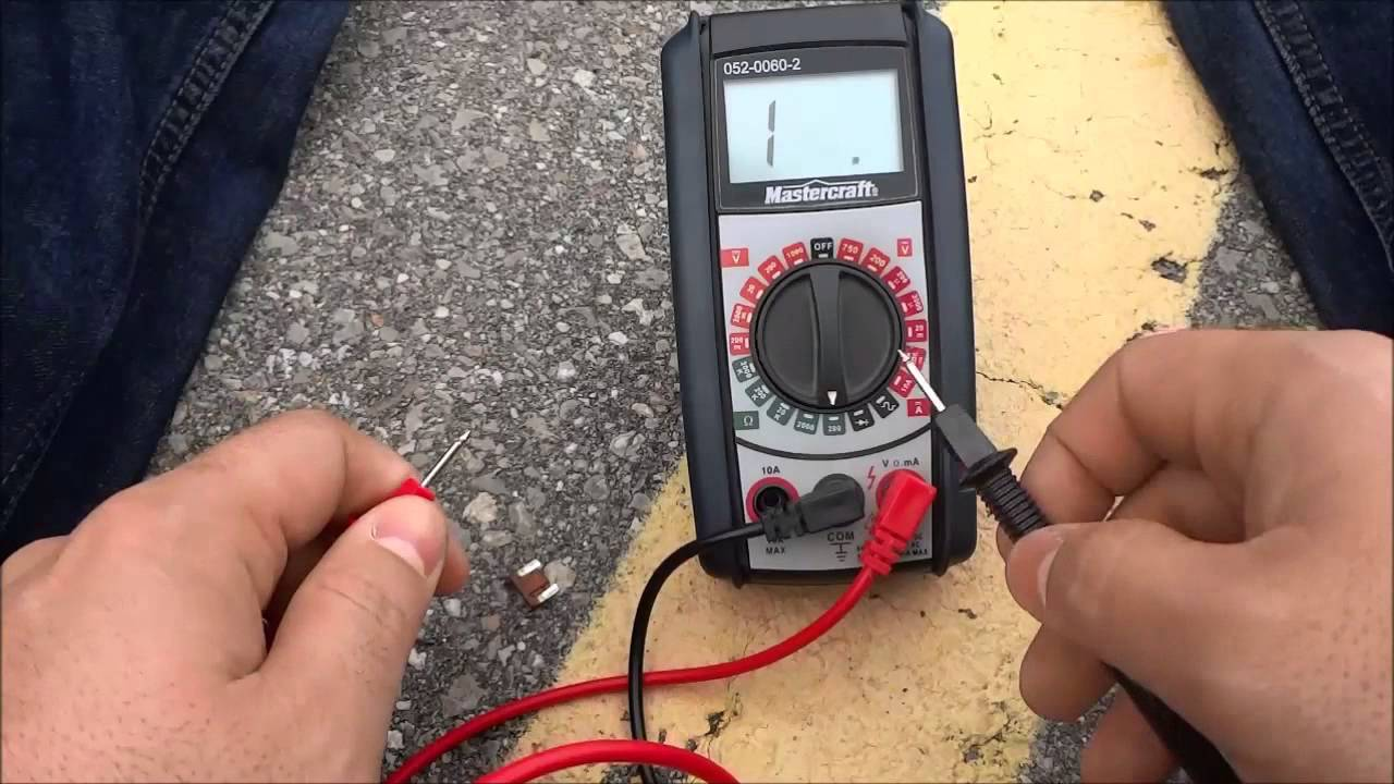 How To Test For Continuity With A Multimeter-Step By Step Tutorial ...
