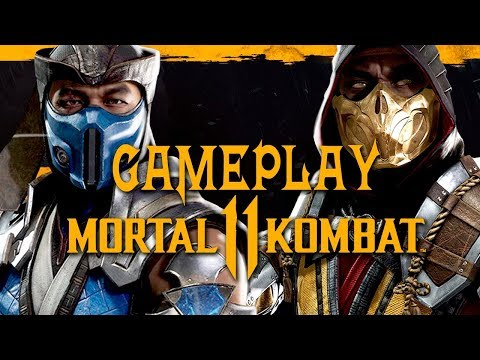 Mortal Kombat 11 - Gameplay de TODOS os personagens, LUTAS incríveis