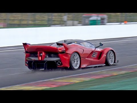 $3.0 Million Ferrari FXX K - INSANE V12 EXHAUST SOUNDS!