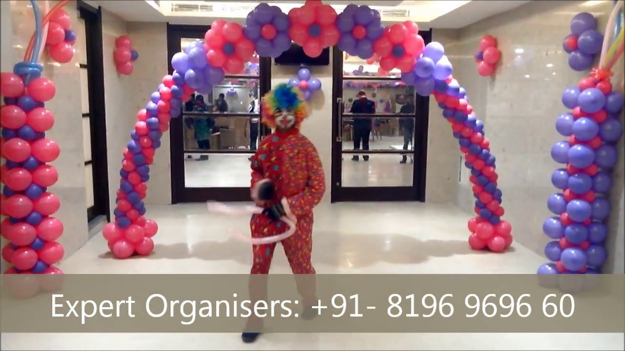Expert Birthday Planners and Balloon Decoration in Chandigarh
