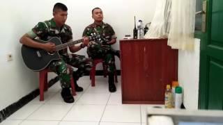 nyanyian hati TNI naff terendap laraku