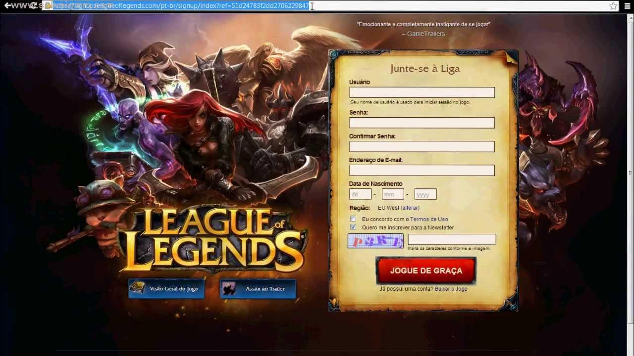 league of legends eu download