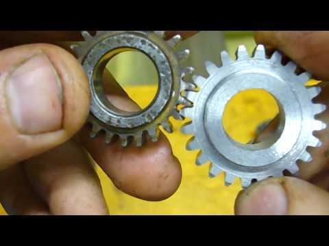 Как нарезать шестерни