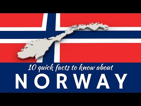 Norway: 10 Interesting Facts and Unusual Things about the Norwegians