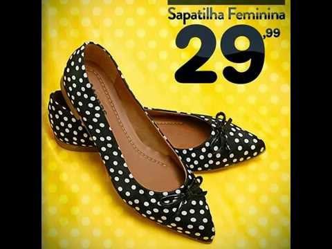 c678d7595 SAPATO MAIS BARATO DO BRASIL - Sapatilha feminina por apenas R$29,99 -  YouTube