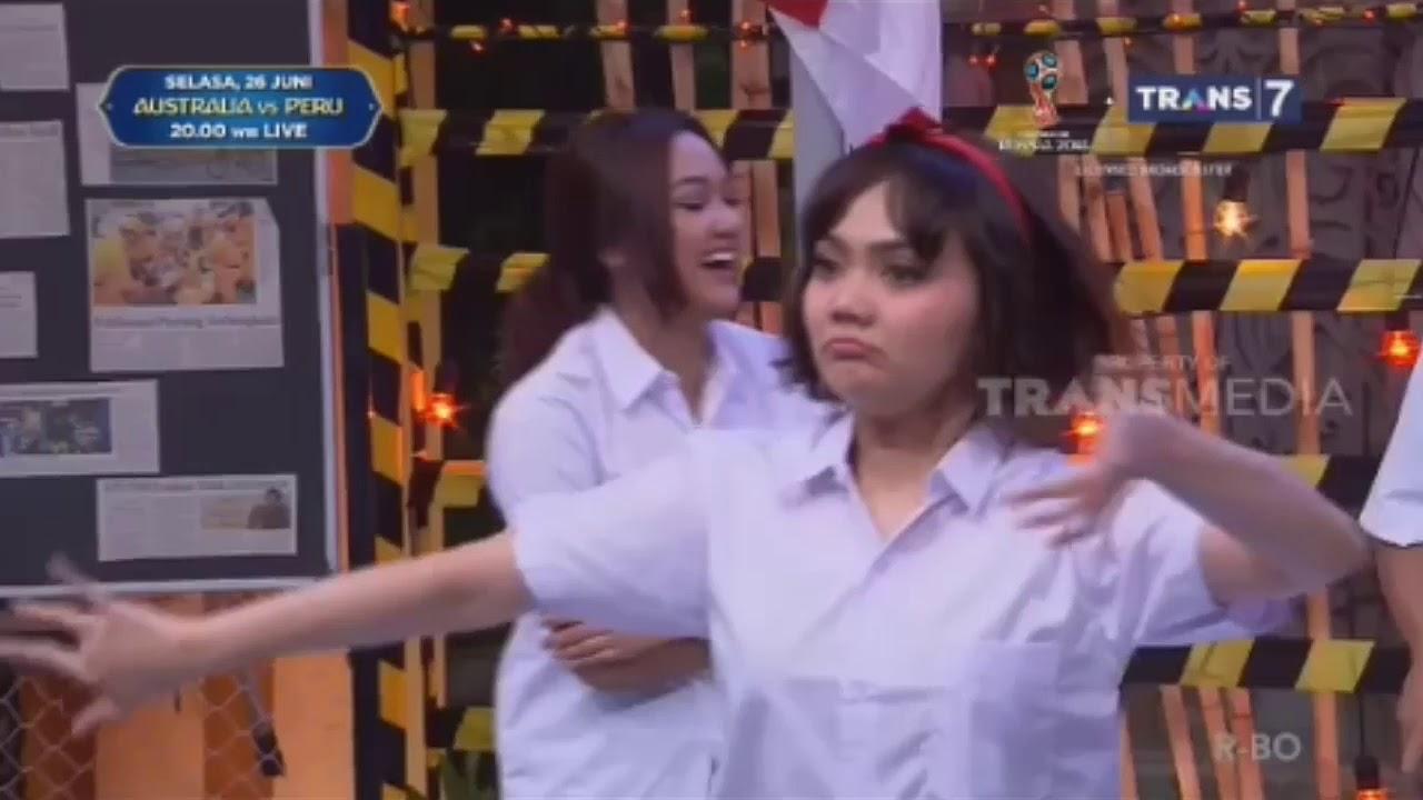Marion Jola: Marion Jola Battle Dance Dengan Rina Nose Di OVJ Trans TV