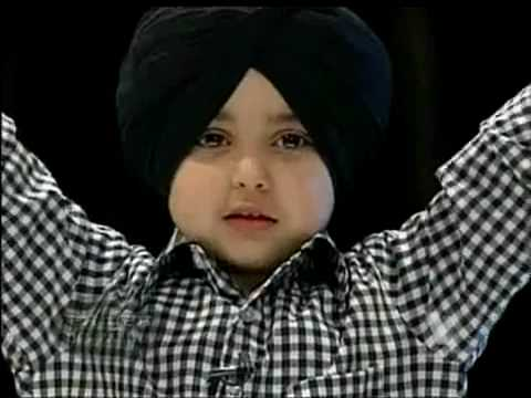 ik baba nanak si by sikh boy 4 year old
