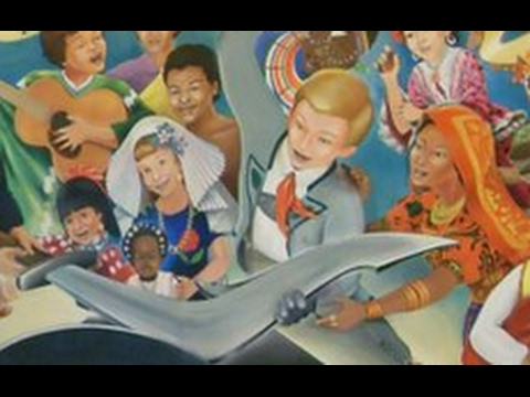 Donald trump and the denver international airport mural for Denver mural airport