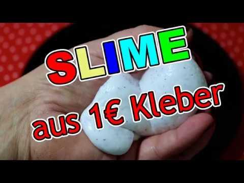 PERFEKTEN SLIME mit 1 EURO Kleber und BILOU selber machen I DIY FLUFFY SLIME