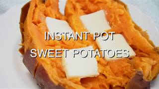 How to Cook Sweet Potatoes in an Instant Pot or Pressure Cooker