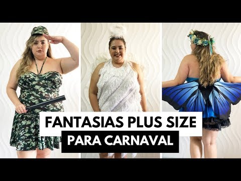 Fantasias Plus Size para o Carnaval // por Ana Luiza Palhares ❤️