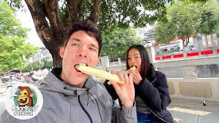 Raw Sugarcane | Chinese Street Food