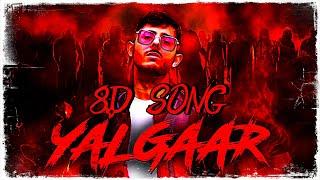 8D BHARAT   YALGAAR - CARRYMINATI X Wily Frenzy   Wear Headphones   8D SONG