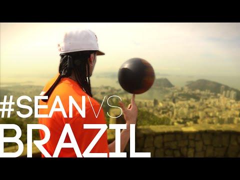 CRAZY Street Soccer Moves Séan GARNIER vs Brazil / @Seanfreestyle