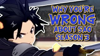 Why Did SAO Fights Get Shorter in SAO Season 3? | Sword Art Online Alicization Fights