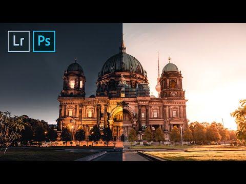 Как делать фото с эффектом день/ночь
