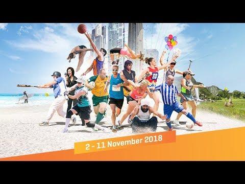 2018 Pan Pacific Masters Games | 2 - 11 November
