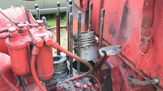 Tractor T 25 Installing Piston Rings (1080p)