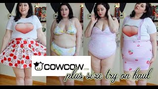 Hi loves, today's video is a CowCow Haul plus size try on haul! Thi...